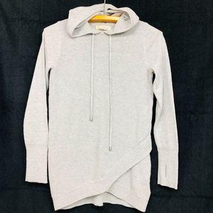 Dakini Hoodie Long Knit Sweater Hoody Gray XS